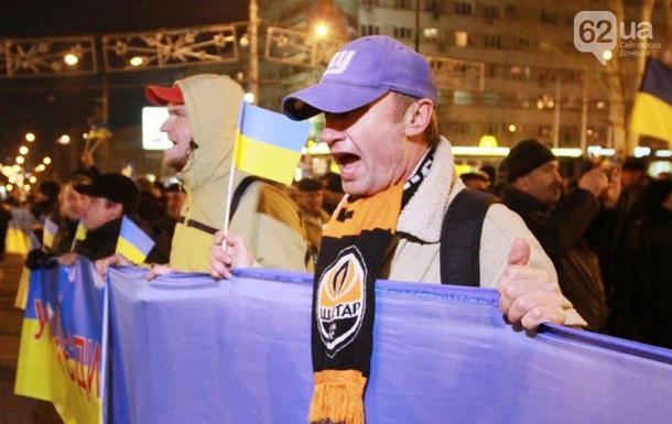 Патриотические силы Донбасса просят ПР услышать тех, кто за единую Украину
