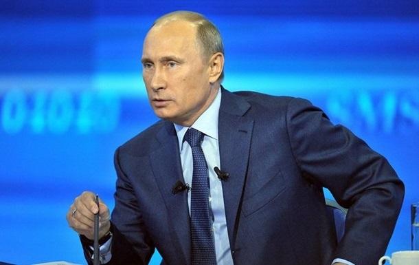 Путин назвал чушью заявления о присутствии российских военных на востоке Украины