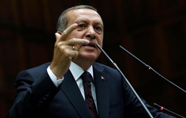 Правящая партия Турции выдвигает Эрдогана на пост президента