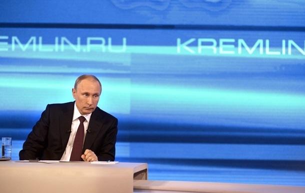 Путин уверяет, что требование к Киеву заплатить за газ не связано с политикой