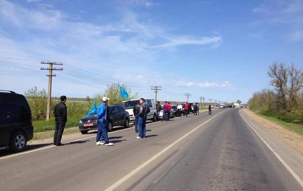 Лидеров крымских татар не пускают в Крым