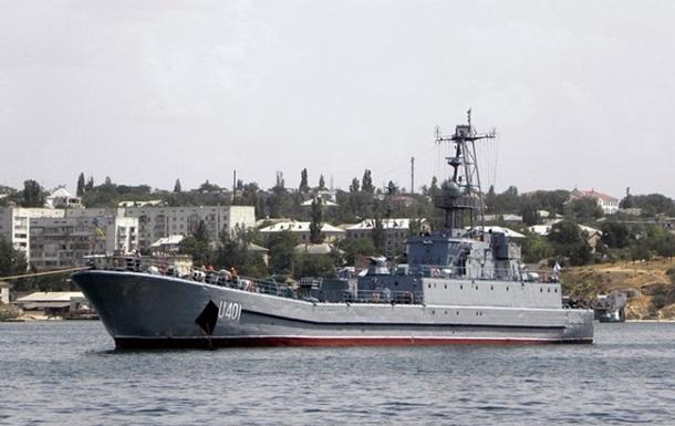 В Одесский порт из Крыма прибыл украинский корабль Кировоград