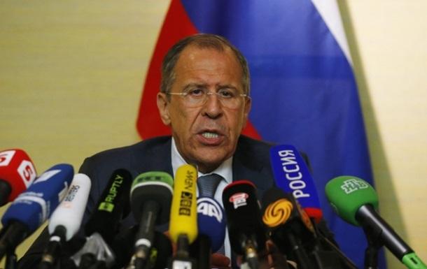 Россия будет пресекать попытки начать гражданскую войну в Украине - Лавров