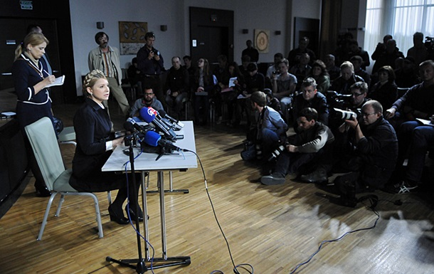 Федерализация недопустима. Тимошенко подготовила  протокол о взаимопонимании  с донецкими митингующими