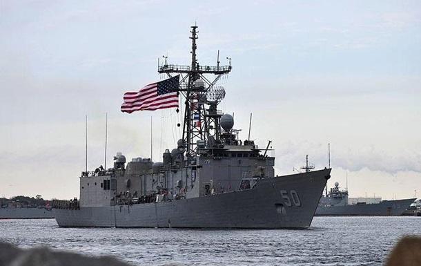 Американский фрегат Тейлор прибывает в Черное море