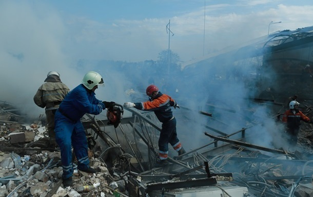 В МВД считают, что взрыв АЗС в Киевской области не является терактом