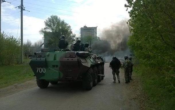 Пять террористов уничтожены в ходе операции в Славянске – МВД