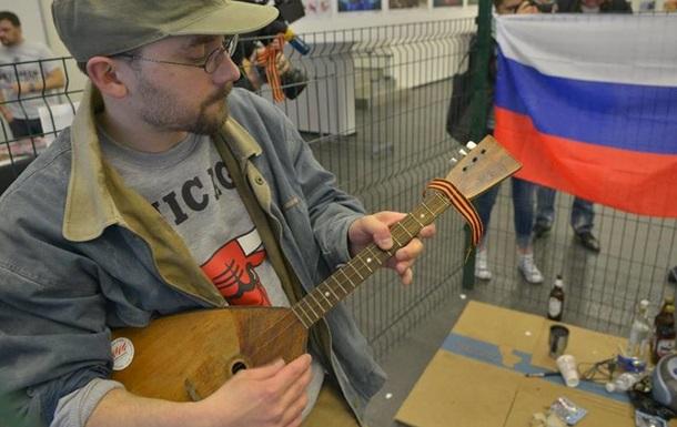 В Киеве показали перфоманс и инсталляцию  Осторожно, русские!