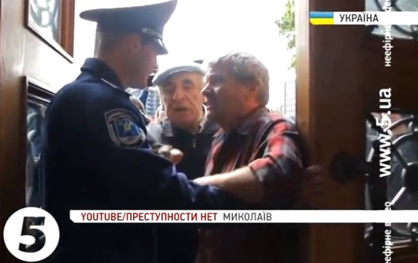 Пророссийские активисты ворвались в горсовет Николаева