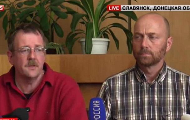 Захваченные эксперты ОБСЕ: Мы не военнопленные, мы гости мэра Пономарева