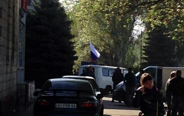 Неизвестные захватили горотдел милиции в Константиновке