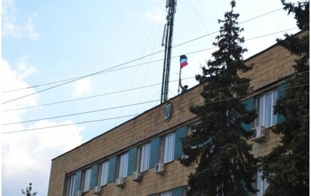 Сторонники федерализации захватили еще один горсовет в Донецкой области