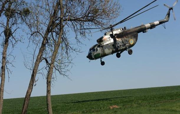 Вертолет под Славянском сбили иностранные специалисты - СБУ