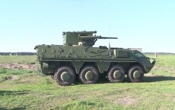 На вооружение Нацгвардии поступили новые БТР