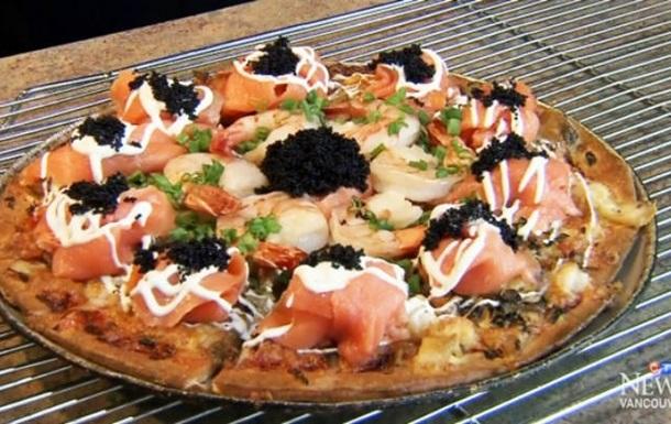 В Канаде приготовили самую дорогую пиццу в мире