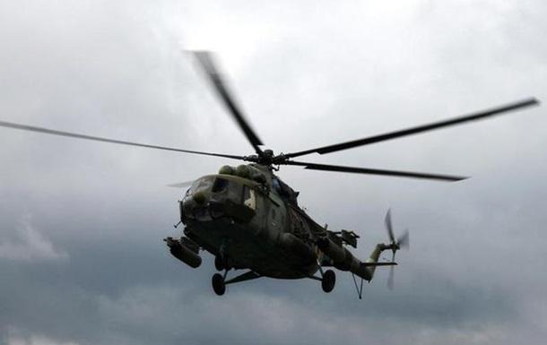 Возле Славянска сбили вертолет Ми-24