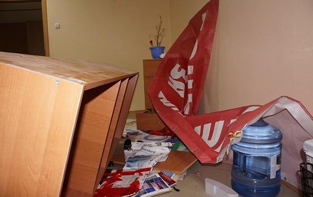 В Донецке напали на офис партии УДАР