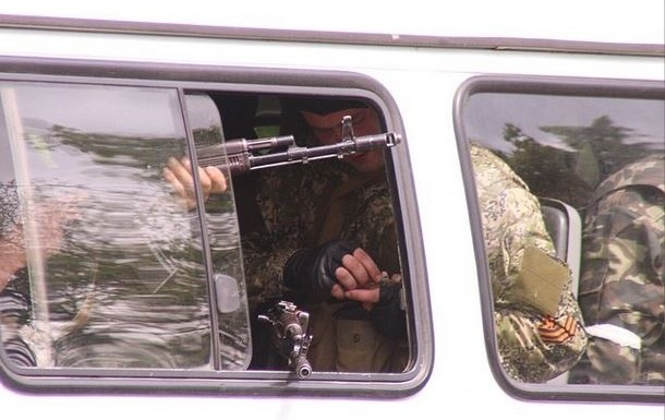 Террористы захватывают Соледар - Бригинец