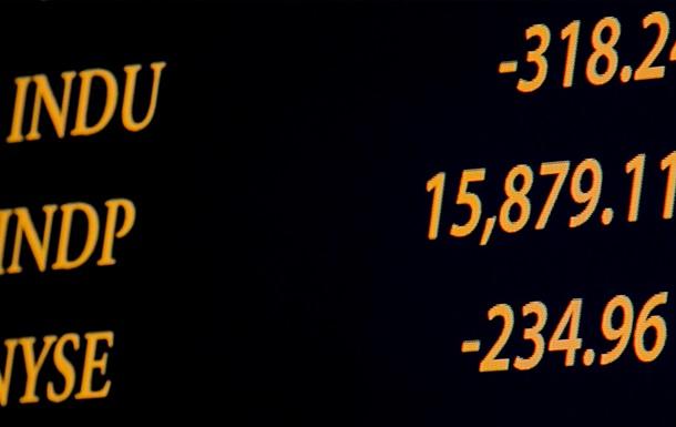 Основные биржевые индексы снизились по итогам фондовых торгов в США