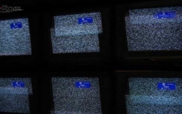 Ряд телеканалов Украины по неизвестным причинам прервали вещание