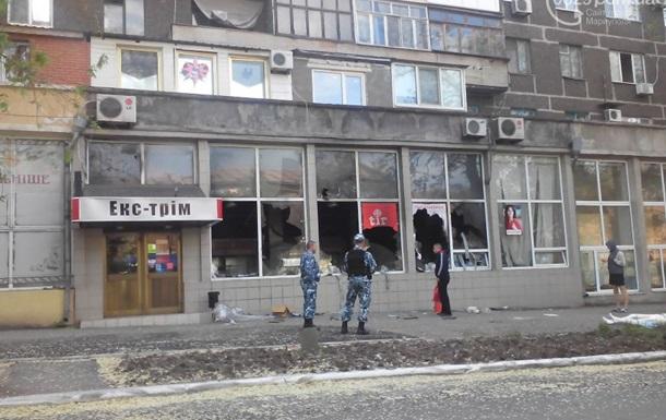 Ночью в Мариуполе пытались ограбить магазины оружия - СМИ