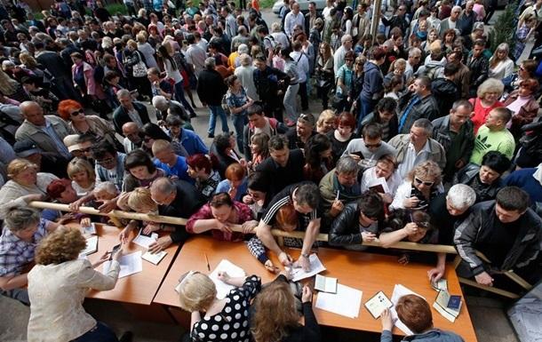 В ЦИК ДНР не исключают 90% явки избирателей на референдум