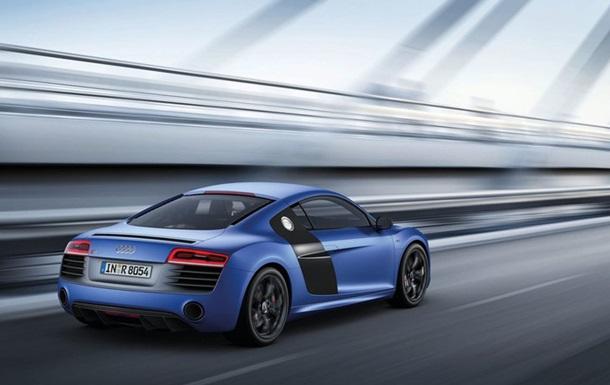 Audi представила первую серийную модель с лазерными фарами
