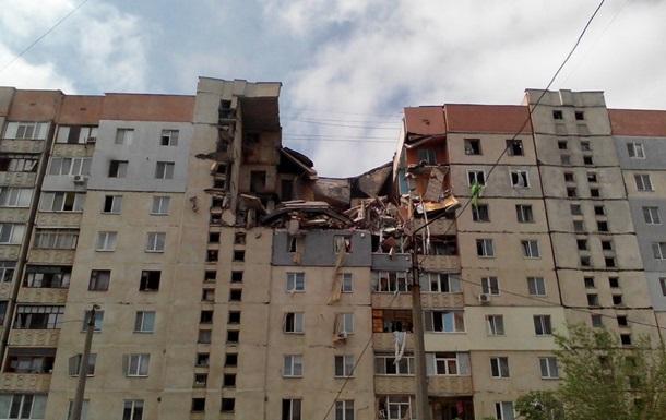В Николаеве взорвалась девятиэтажка