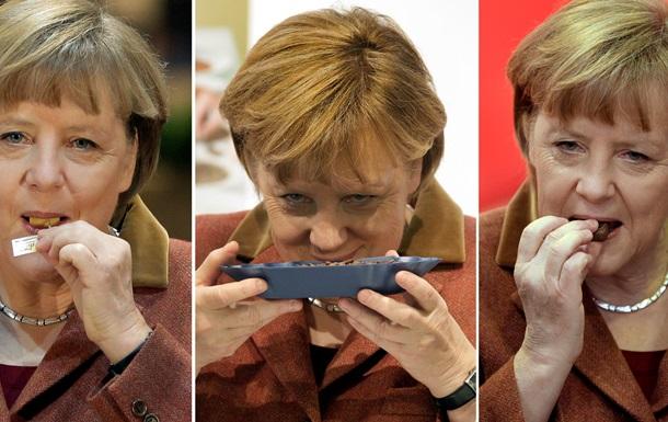 Ангела Меркель начала придерживаться строгой диеты
