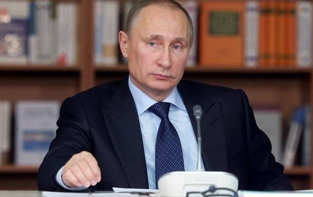 Путин ждет более активных действий от ЕС относительно газового долга Украины