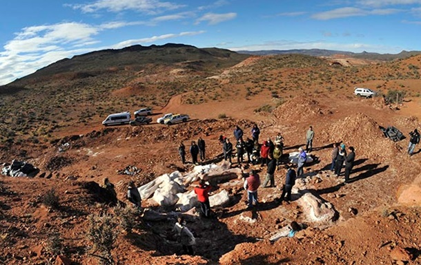 В Аргентине нашли кости самого большого животного на Земле
