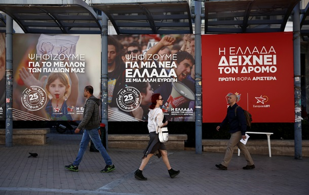 Греция: эксит-поллы отдают победу на выборах левым