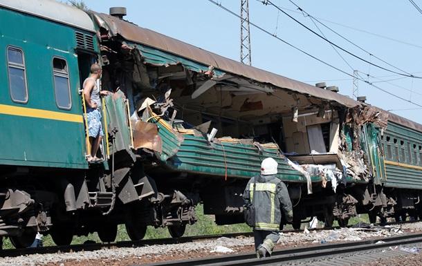 Причиной железнодорожной аварии в Подмосковье стал лопнувший рельс