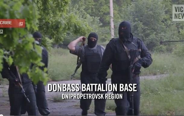 Русская рулетка . Американский журналист снял видео о батальоне Донбасс
