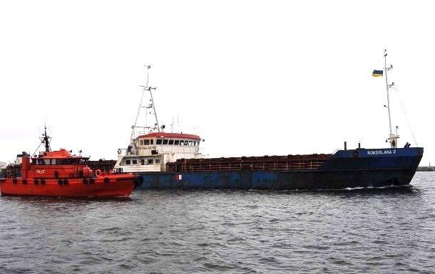 Украинский капитан умер на брошенном в Новороссийске сухогрузе