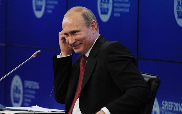 Путин: Мы с уважением отнесемся к выбору украинского народа 25 мая