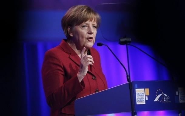 Меркель стремится  всеми средствами  избежать обострения ситуации в Украине