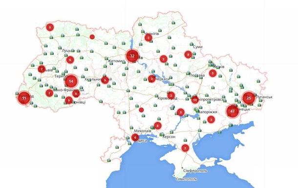 В сети появилась интерактивная карта нарушений на выборах президента