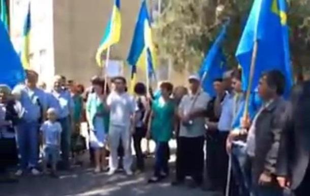 Крымские татары проголосовали в Херсонской области