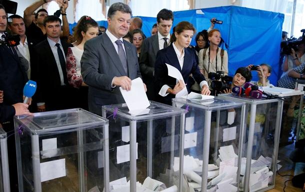 Порошенко надеется, что выборы пройдут в один тур