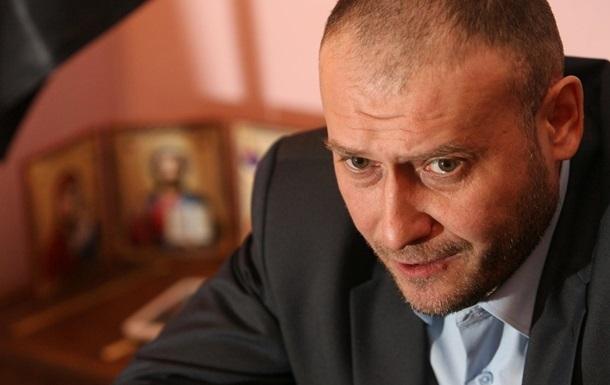 Ярош готов помочь новоизбранному президенту остановить  агрессию РФ