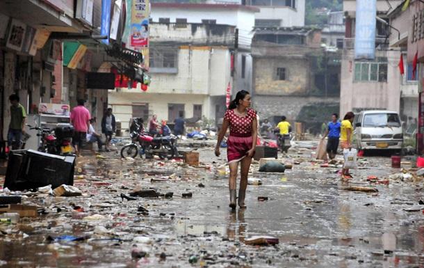 Наводнение в Китае: более 5,51 млн пострадавших, 24 человека погибли
