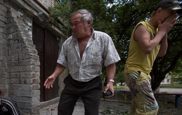 В Славянске в ходе АТО погибли мирные жители