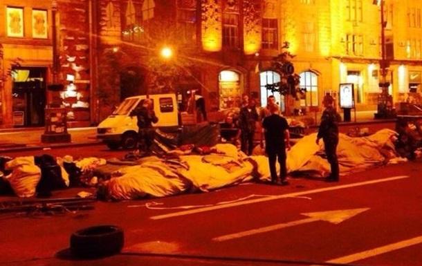 На Майдане активисты начали демонтировать палатки