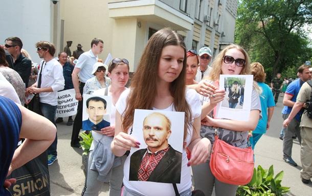 У МВД пытались разогнать митинг родственников погибших в ходе АТО