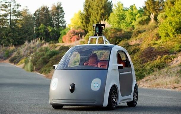 Без педалей і керма. Google представив безпілотний автомобіль