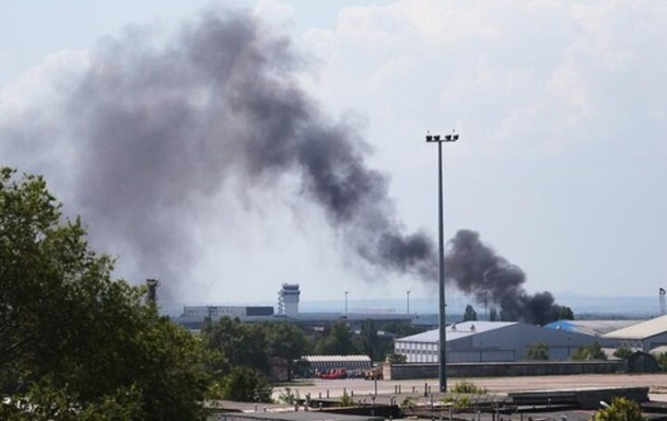 Собаки службы безопасности аэропорта Донецк стали  заложниками  АТО