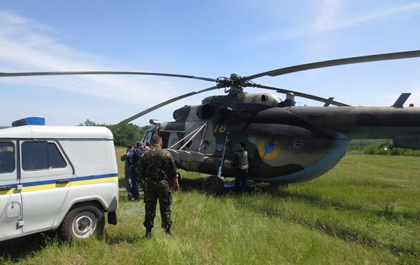 В районе Славянска сбит вертолет - соцсети