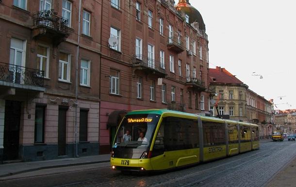 Во Львове не работают почти все трамвайные маршруты
