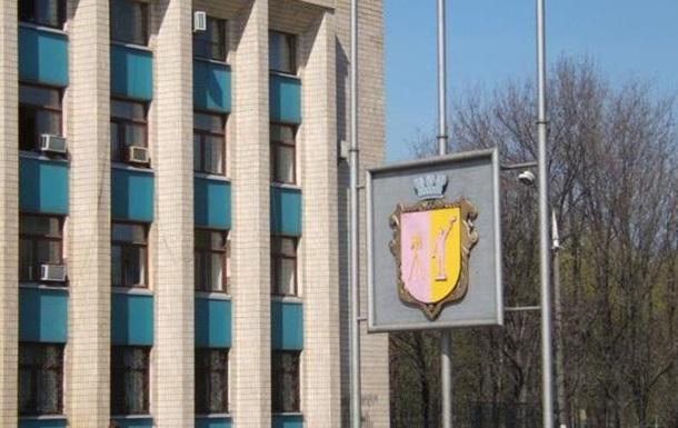 В Днепродзержинске Правый сектор блокирует здание горсовета